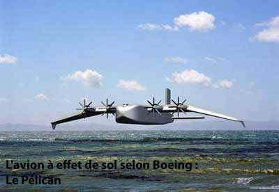 Le Pélican, projet lancé en 2003 par... Boeing